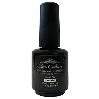 Claw Culture Hard Gel Nail Builder 15ml - Clear