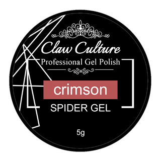 Claw Culture Spider Gel Crimson 5g