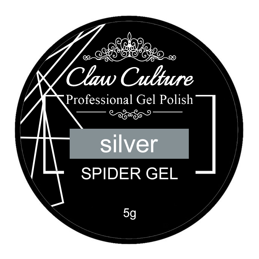Claw Culture Spider Gel Silver 5g