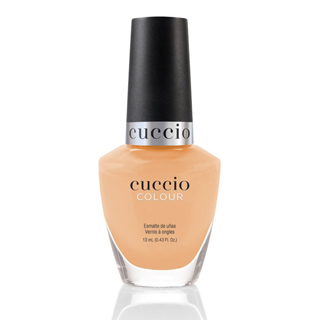 Cuccio Polish - Rainbow Sorbet Collection - Peach 13ml
