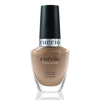 New Cuccio Colour Polish - Chocolate Collection - See You Latte 13ml