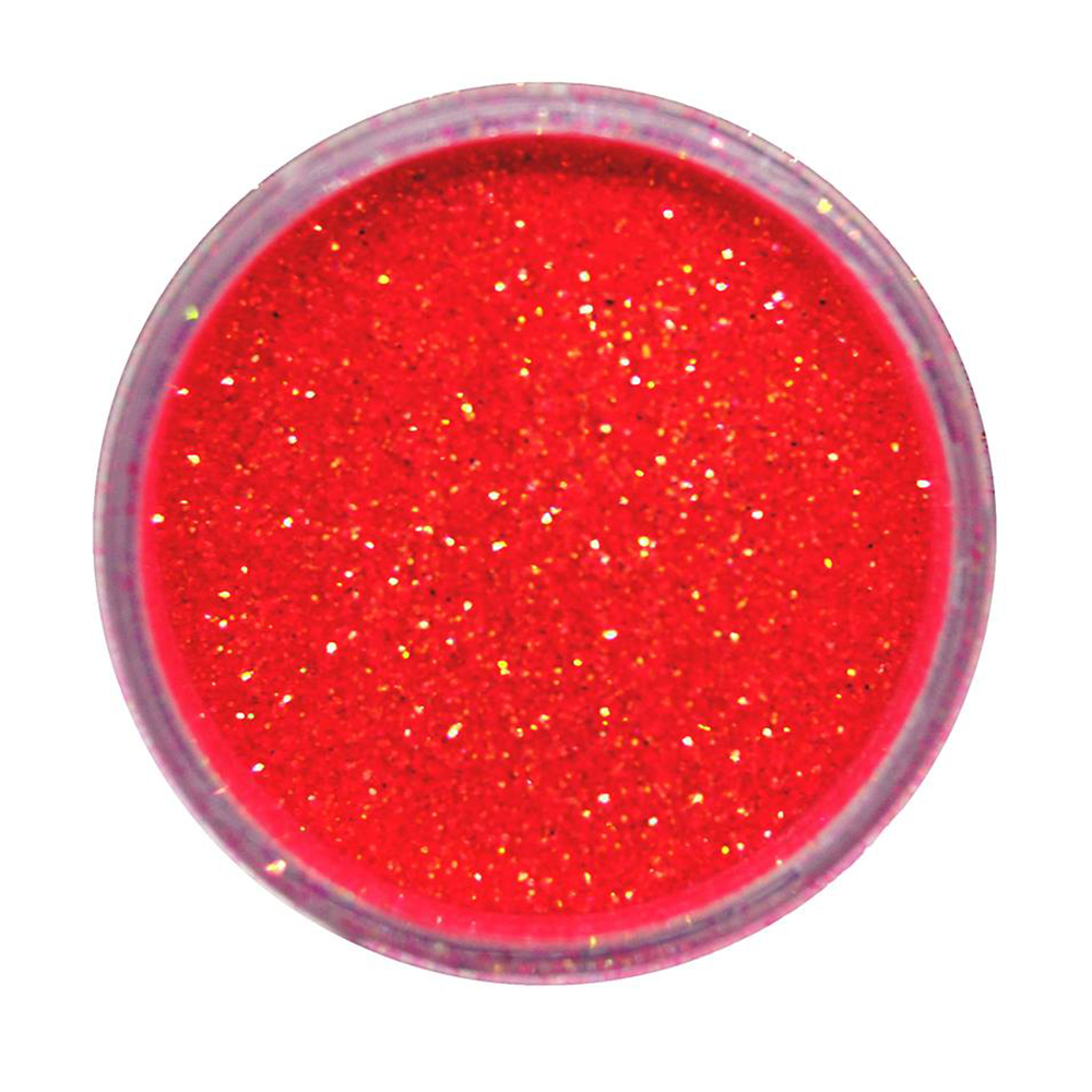 Cuccio Icon Glitter Dust - Iridescent Hot Pink 008 Hex