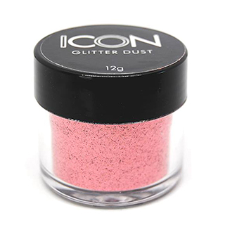 Cuccio Icon Glitter Dust - Standard Flamingo 008 Hex c