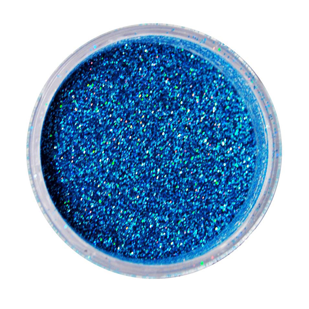 Cuccio Icon Glitter Dust - Holographic Peacock 008 Hex
