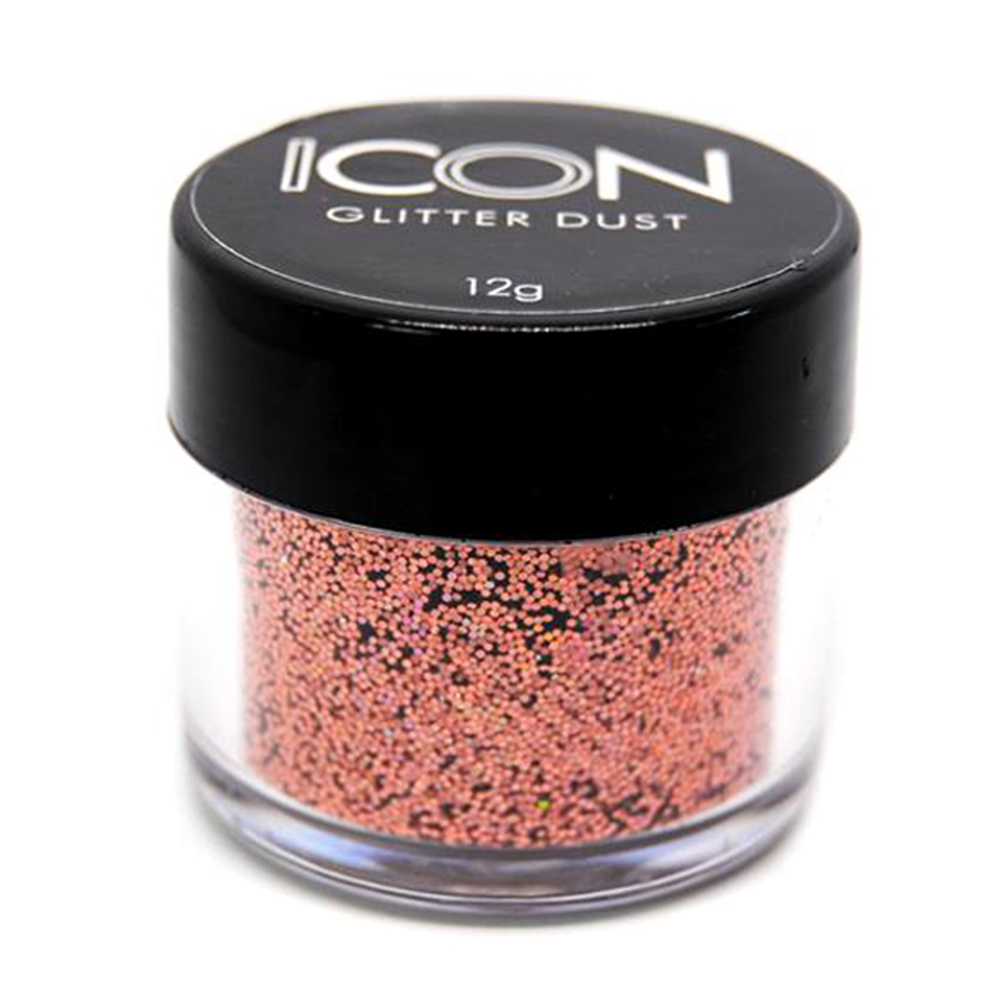 Cuccio Icon Glitter Dust - Holographic Blush 15 Hex