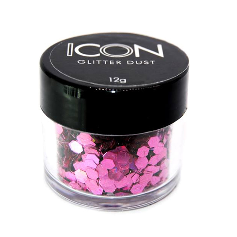 Cuccio Icon Glitter Dust - Festival Holographic Temptation 125 Hex