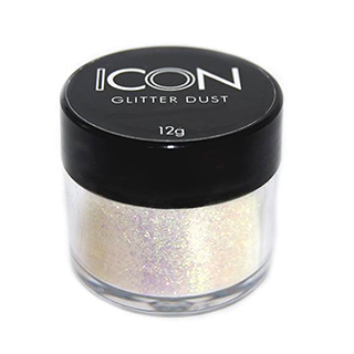 Cuccio Icon Glitter Dust - Iridescent Snowfall 008 Hex