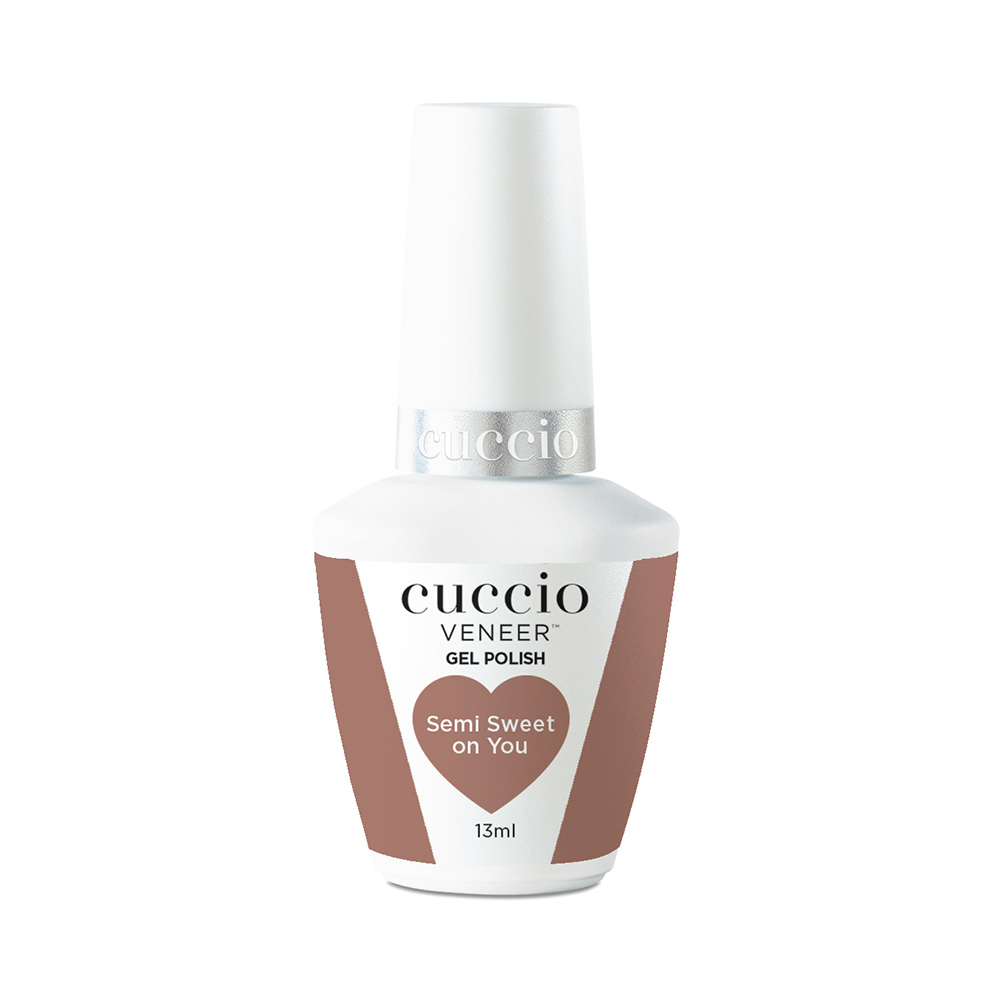 New Cuccio Gel Polish - Chocolate Collection - Semi Sweet On You 13ml