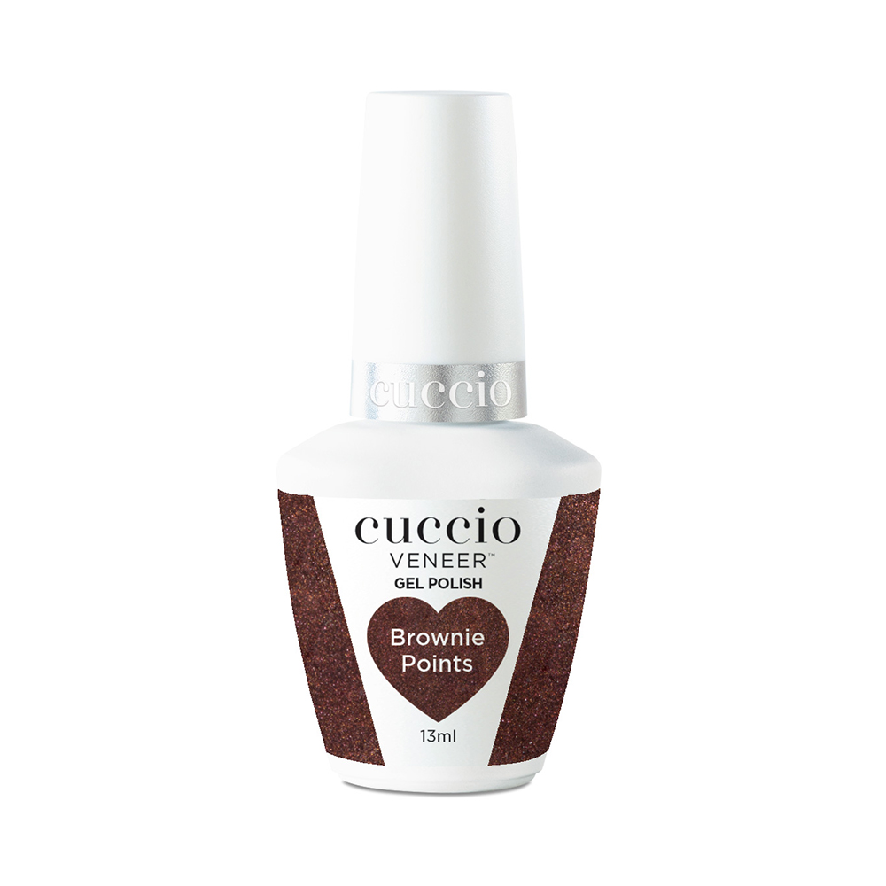 New Cuccio Gel Polish - Chocolate Collection - Brownie Points 13ml