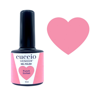 Cuccio Gel Polish - Rainbow Sorbet Collection -  Punch 9ml