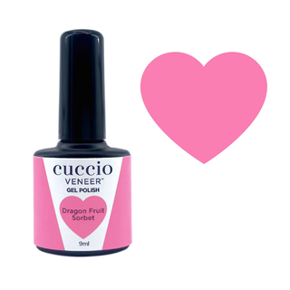 Cuccio Gel Polish - Rainbow Sorbet Collection - Dragonfruit 9ml