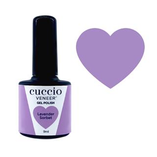 Cuccio Gel Polish - Rainbow Sorbet Collection - Lavender 9ml
