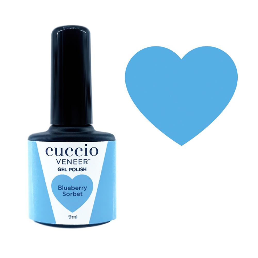 Cuccio Gel Polish - Rainbow Sorbet Collection - Blueberry 9ml