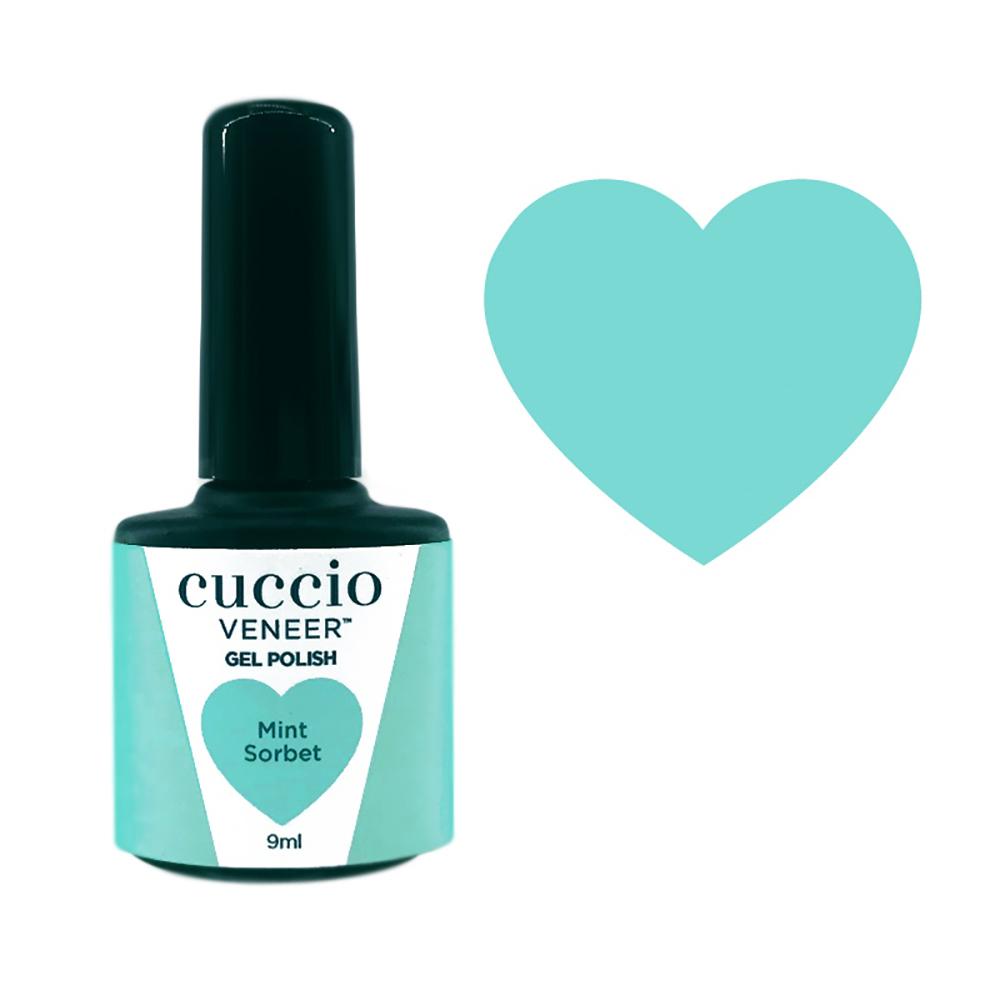 Cuccio Gel Polish - Rainbow Sorbet Collection - Mint 9ml