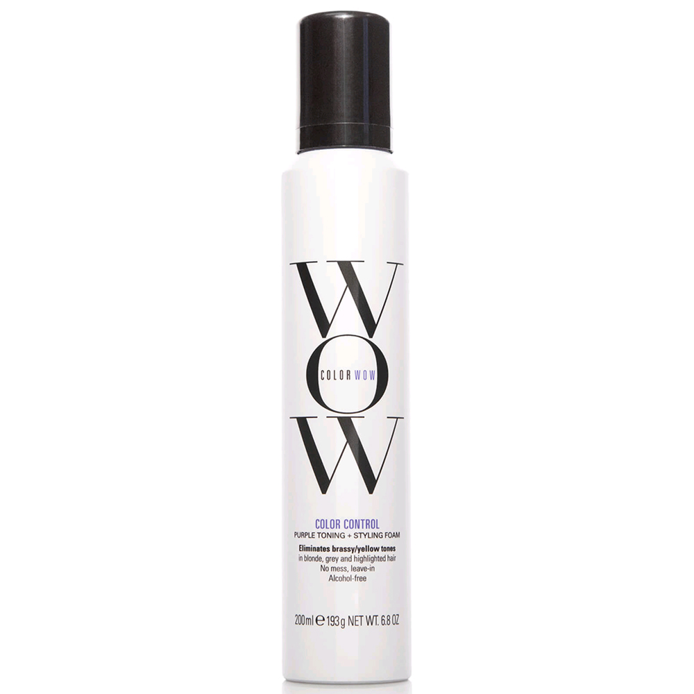 New ColorWow Colour Control Mousse - Blonde 200ml