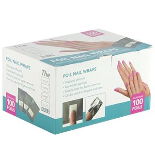 The Edge Foil Nail Wrap 100Pcs