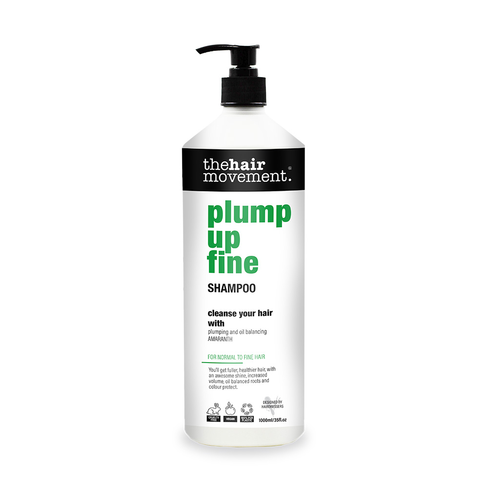 The Hair Movement Plump Up Fine 1 Litre Shampoo