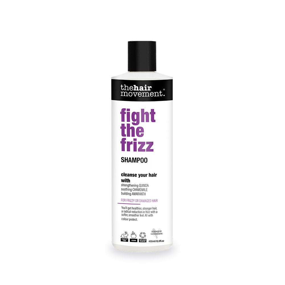 The Hair Movement Fight The Frizz 400ml Shampoo