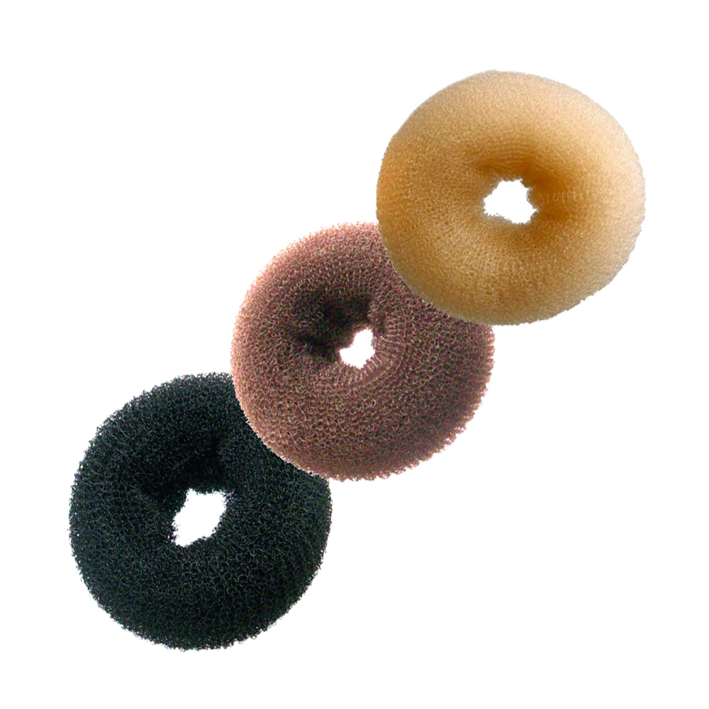 Hairtools Small Bun Ring Brown
