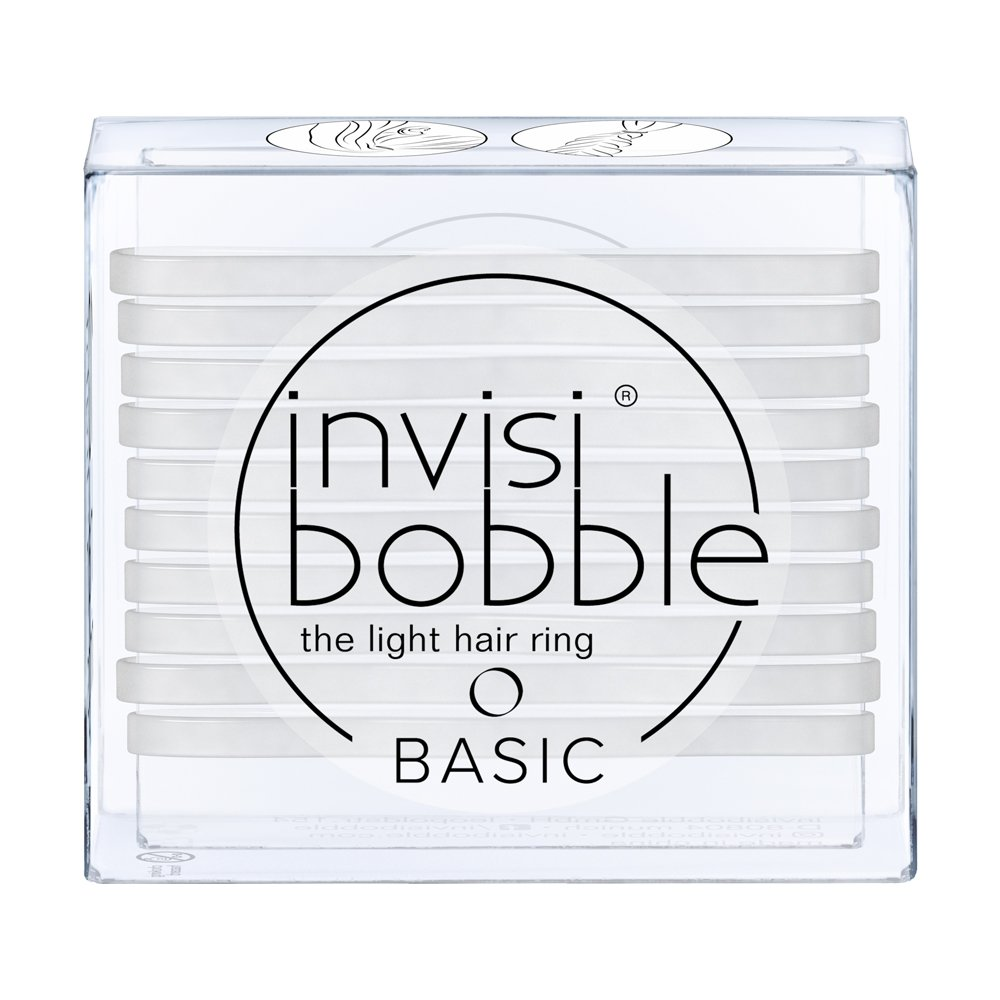 Invisibobble Basic Elastics - Crystal Clear