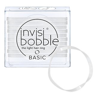 Invisibobble Basic Elastics - Crystal Clear
