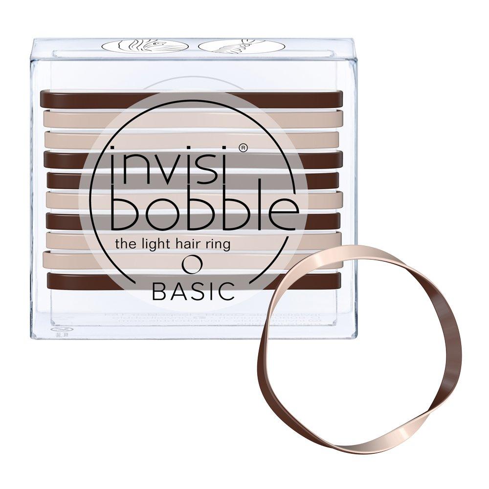 Invisibobble Basic Elastics - Mocha and Cream
