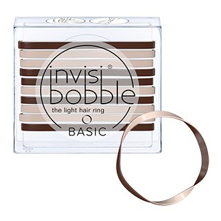 Invisibobble Basic Elastics - Mocha and Cream