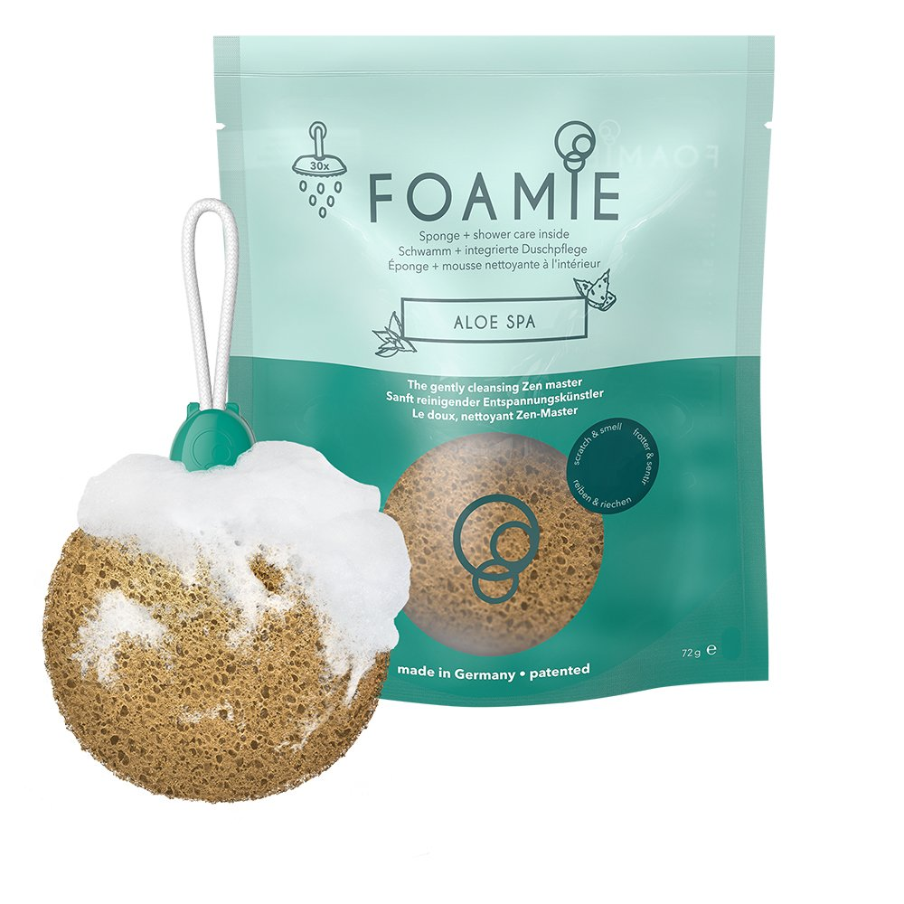 Foamie Aloe Spa Shower Sponge