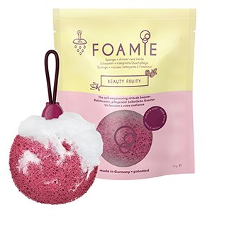 Foamie Beauty Fruity Shower Sponge