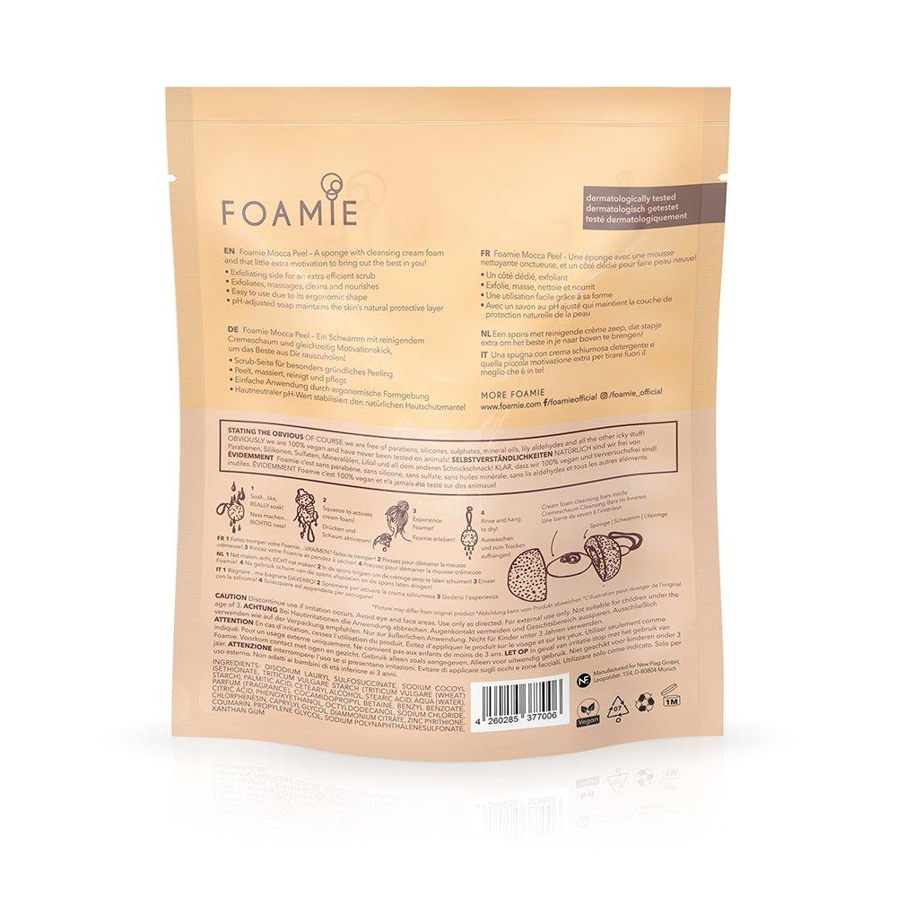 Foamie Mocca Peel Shower Sponge