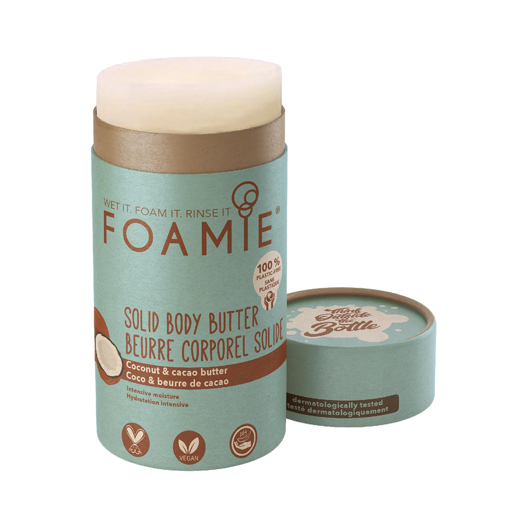 Foamie Body Butter Stick - Coconut and Cacao