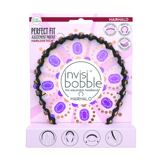 Invisibobble British Collection - Hair Halo - Put Your Crown On