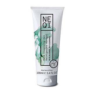 NEQI Hand Cleansing Gel with Aloe Vera & Shea 100ml