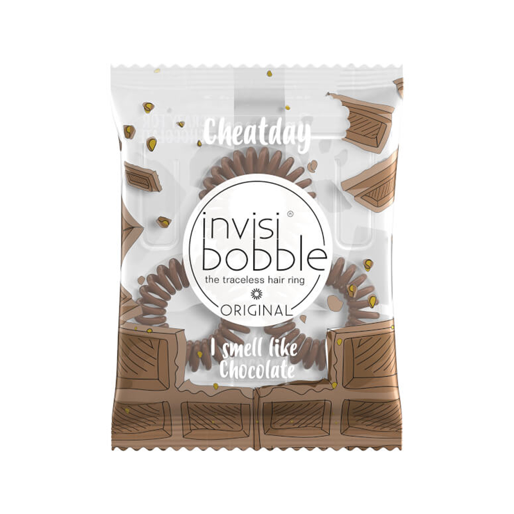 Invisibobble Original Cheat Day Crazy For Chocolate Scent