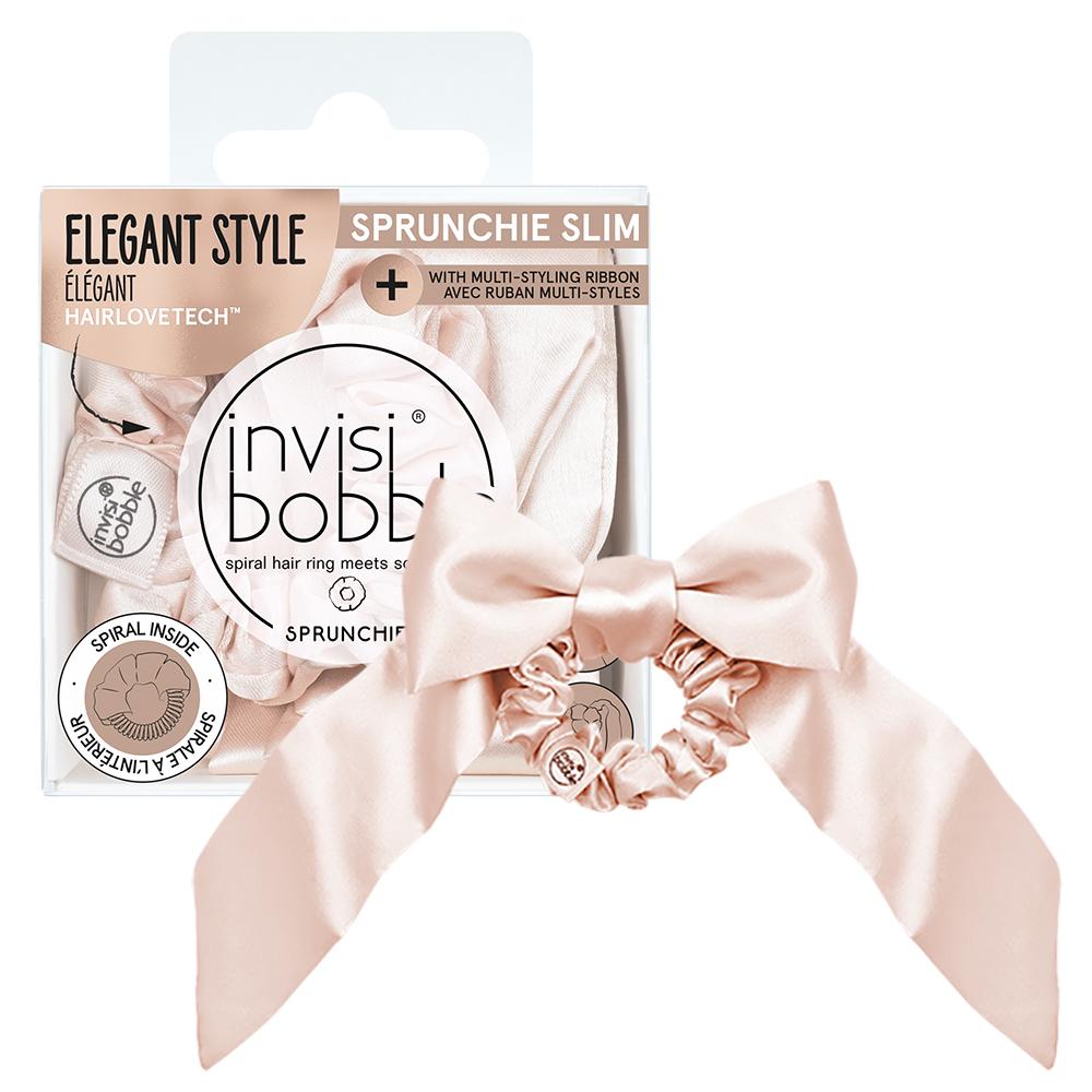 New Invisibobble Slim Sprunchie - Ballerina Bow