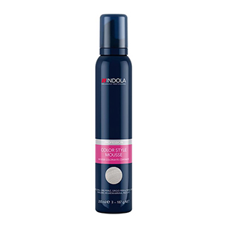 Indola Colour Mousse Pearl Grey 200ml