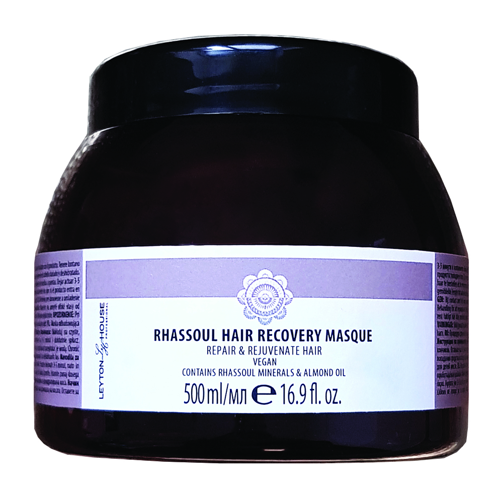 New Leyton House Rhassoul Hair Recovery Masque 500ml