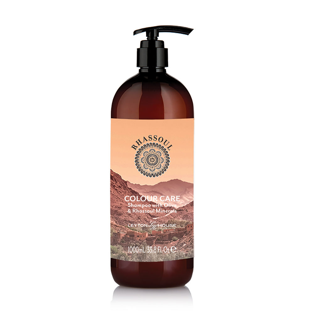 Leyton House Rhassoul Colour Care Shampoo 1 Litre
