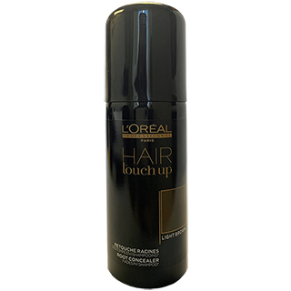 L'Oreal Hair Touch Up Spray Light Brown 75ml