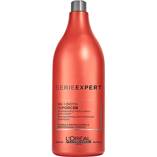 Loreal Serie Expert Inforcer Shampoo 1.5 Litre