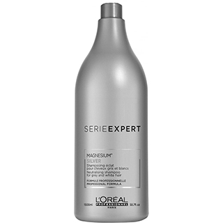 L'Oreal Serie Expert Silver Shampoo 1.5ltr