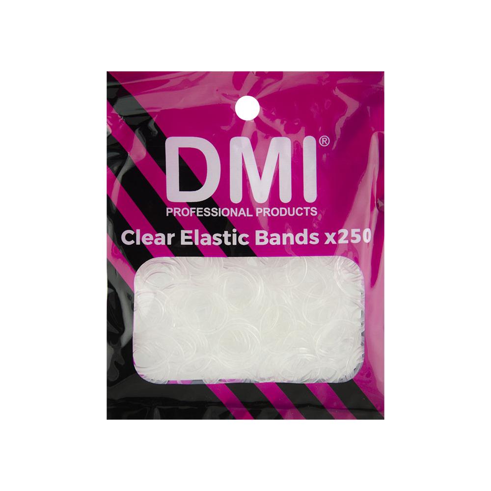 DMI Elastic Bands Clear 250pk