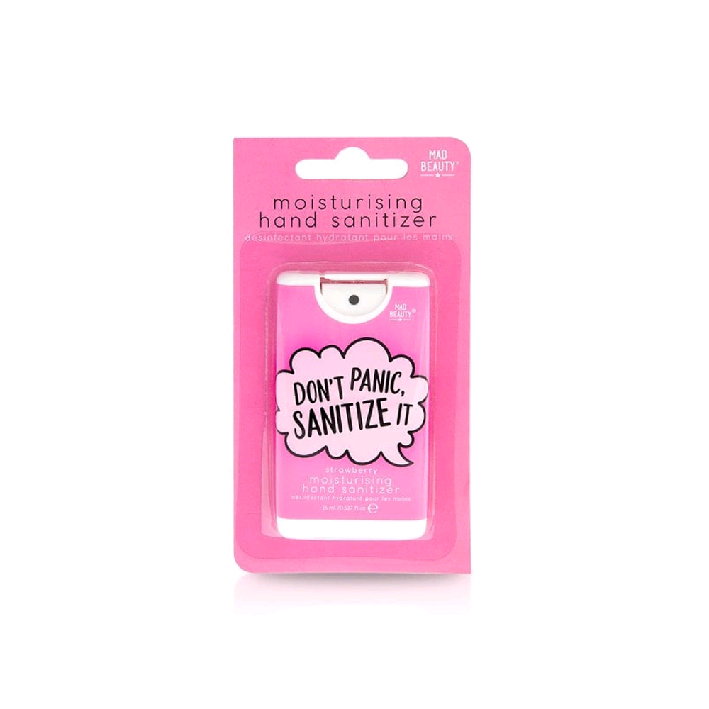 Mad Beauty Don't Panic Sanitize it Hand Sanitizer - Strawberry