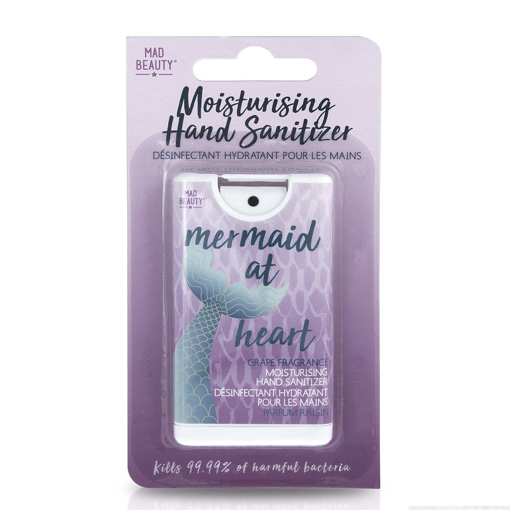 Mad Beauty Mermaid Hand Sanitizer - Grape