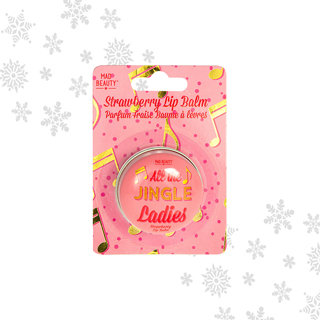 Mad Beauty All The Jingle Ladies Lip Balm