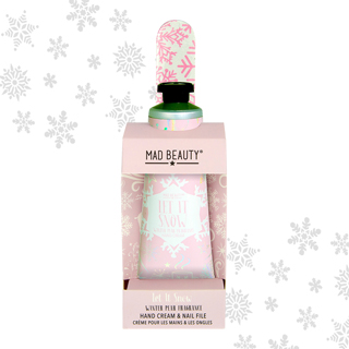 Mad Beauty Let it Snow Hand Care Pink - Winter Pear