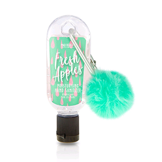 Mad Beauty Pom Pom Clip & Clean Hand Sanitizer - Apple