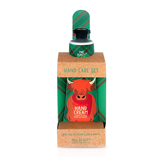 Mad Beauty Scottish Hand Care Set - Highland Cow