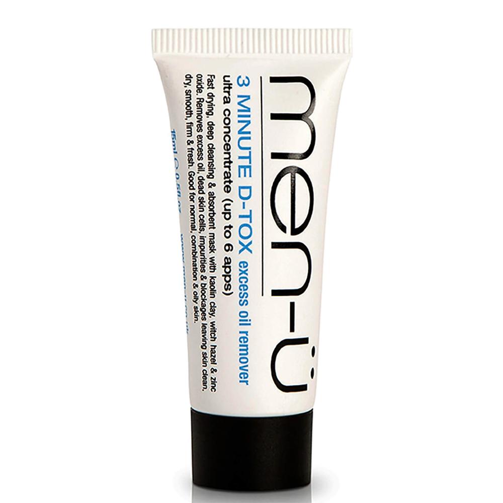 Men-U D-Tox Deep Clean Clay Mask 15ml Buddy