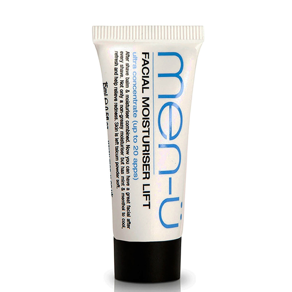 Men-U Facial Moisturiser Lift Tube 15ml